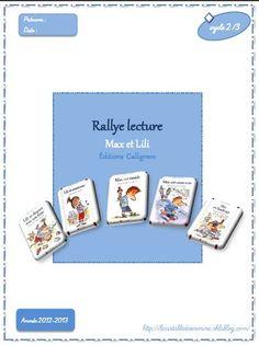 Rallye lecture Max et Lili (suite d'Alysse) Max Et Lili, Lily, Teaching, Education, Alysse, Satchel, Orchids, Onderwijs