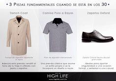Si estás en tus 30, sé preciso a la hora de vestir una prenda elemental de esta etapa. #HighLife