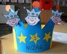 Easy Diy Crafts, Diy Crafts For Kids, Art For Kids, Christmas Crafts For Kids To Make, Xmas Crafts, Diy Birthday Crown, Catholic Crafts, Bday Cards, Sunday School Crafts