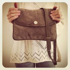 VINTAGE BROWN BAG