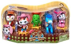 Sheriff Callie's Wild West Play Pack has all of the Nice and Friendly Corners characters kids love to watch!