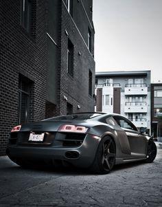 Audi | R8. Sexy beyond belief.