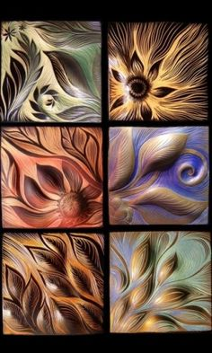 Natalie Blake tiles - texture inspiration