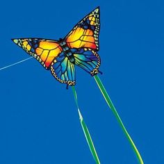Single Line Butterfly Kite w Tails New   eBay