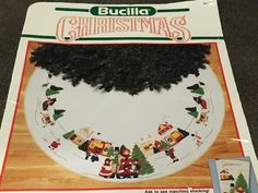 Bucilla A Dickens Christmas Round Tree Skirt by Fraservalleyjewels