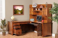 Desk With Hutch  ch