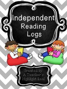 Independent Reading Logs - FREE. These are very nicely laid out and will give you students a chance to really dig into their reading! Very impressive!