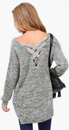 Boyfriend Knit Sweater ♡
