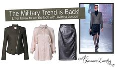 #win this military themed outfit thanks to Jovonna London - just click through! http://on.fb.me/RXSHqh