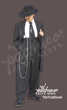 El Pachuco - traditional zoot suit