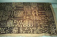 "Dissertation memories ""Barkcloth"" Info - Niuean hiapo, barkcloth, Auckland museum."