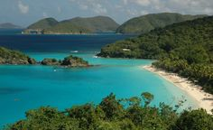 Virgin Islands National Park has an amazing underwater snorkeling trail at Trunk Bay