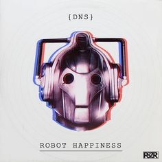 DNS - Robot Happiness #artwork #techno #music #cover