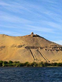 ::::ﷺ♔❥♡ ♤✤❦♡  ✿⊱╮☼ ☾ PINTEREST.COM christiancross ☀ قطـﮧ ⁂ ⦿ ⥾ ❤❥◐ •♥•*⦿[†] ::::   Egypt - Nile View - Aswan
