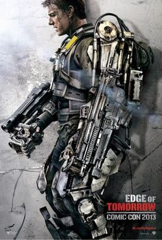Edge of Tomorrow: Tom Cruise & Emily Blunt Comic-Con Character Poster Tom Cruise, Edge Of Tomorrow, New Movies, Good Movies, Movies And Tv Shows, Awesome Movies, Upcoming Movies, Rain Man, Science Fiction