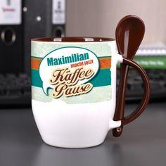 Tasse   Kaffeepause mit Namen