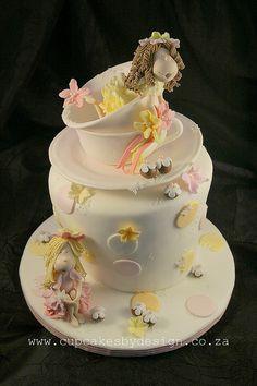 Nina's fairy cake by ♥Dot Klerck....♥, via Flickr