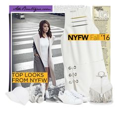 """""""60 Second Style: Best NYFW Street Style"""" by adeboutique on Polyvore featuring Rebecca Minkoff, adidas, Beats by Dr. Dre, Talbots, women's clothing, women, female, woman, misses and juniors"""