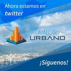 www.catalogourbano.com ahora esta en twitter. Síguenos en @CatalogoUrbano