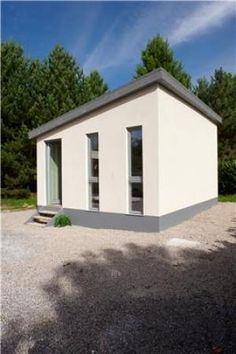 This is the first hemp-lime building constructed purely for scientific testing. Hemp has amazing environmental qualities for construction. http://www.sciencedaily.com/releases/2010/09/100915205229.htm