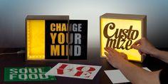 Light Think Light Boxes - 3 Size Options