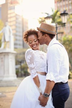 Golden City Elopement Wedding Styled Shoot with Laid Back South African Style by Pickle Photography | BLOVED Blog