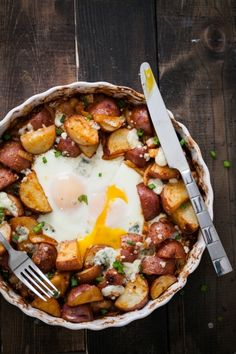 Smoked Paprika Potato Egg Bake