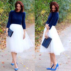 cobalt blue outfit