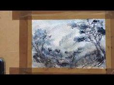 50 nuances de payne's grey - feutre aquarellable Winsor & Newton - YouTube