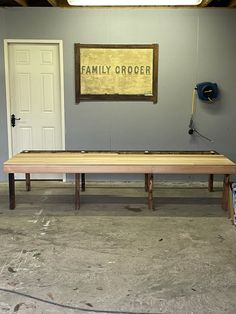Ping Pong Table, Bench, Furniture, Home Decor, Decoration Home, Room Decor, Home Furnishings, Home Interior Design, Desk