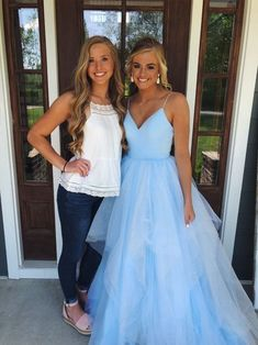 Charming Prom Dress,Sexy Prom Dress,Long Evening Dress,Formal Dresses - 2020 New Prom Dresses Fashion - Fashion Of The Year Straps Prom Dresses, V Neck Prom Dresses, Sexy Dresses, Cute Dresses, Dress Prom, Bridesmaid Dresses, Homecoming Dresses, Pageant Dresses For Teens, Dresses Elegant