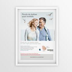 """Print advertising for Phonak """"Invisibile"""" 2012 #creative #design #adv www.gioart.com"""