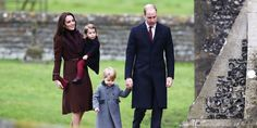PHOTO: Britains Prince William and Kate, the Duchess of Cambridge with their children Prince George and Princess Charlotte arrive to attend the morning Christmas Day service at St Marks Church in Englefield, England, Dec. Pippa Middleton, Princesse Kate Middleton, Middleton Family, Princesa Charlotte, Princesa Diana, Kate Middleton Prince William, Prince William And Catherine, William Kate, Princess Kate