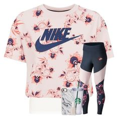 """nike #1"" by hhaileyyyy on Polyvore featuring NIKE, Casetify, Essie and hhaileyyyy"