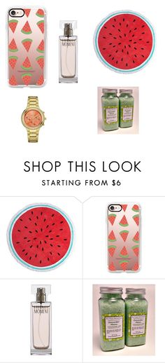 """Water melon"" by kittykatbar ❤ liked on Polyvore featuring interior, interiors, interior design, home, home decor, interior decorating, Dorothy Perkins, Casetify, Calvin Klein and Caravelle by Bulova"