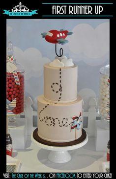 Cool plane cake
