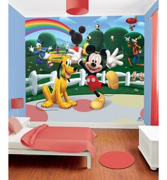Walltastic Disney Mickey Mouse Clubhouse Wall Mural