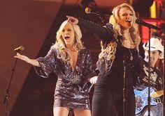 Carrie Underwood, Miranda Lambert & Brad Paisley