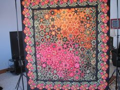 Quilt, bed, one block wonder, via Etsy. Amazing!