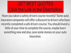 Safe Auto Insurance Quote Aaa Auto Insurance Quotes  How To Get The Cheapest Rates  Watch