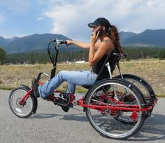 Hand and foot powered recumbent by Lightfoot