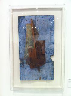 """Vladimir TATLINE """"Contre-relief bleu"""" (circa 1914), on display at """"De Chagall à Malévitch - La révolution des avant-gardes"""" exhibition, Grimaldi Forum, Monaco by www.yourguideboba.com"""