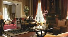 Presidential Suite at the Mediterranean Palace hotel in Thessaloniki, Greece http://www.mediteranique.com/hotels-greece/thessaloniki/mediterranean-palace
