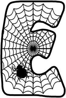 Halloween Letters, Halloween 1, Tangram, Letter E, Scary, Spiderman, Kids Rugs, Moon, Treats