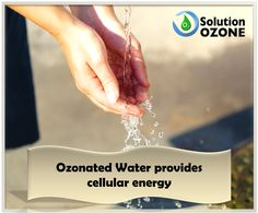 Ozone is the second most powerful disinfectant in the world and is natural. Ozone Therapy, Cellular Energy, Improve Circulation, Healthy Life, Water, Water Water, Aqua, Healthy Living