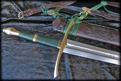 Aragorn's / Strider's Ranger Sword - Functional High Carbon Steel Full Tang Custom Sword by Fable Blades
