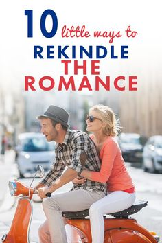 Keep things fun and spontaneous with these 10 little ways to rekindle the romance in your relationship! #relationship