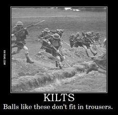 History Discover Scottish KILTS funny pride balls like these Men& T SHIRT 8 colours 6 sizes Kilts Funny Jock Military Memes Military History Funny Military Military Life Men In Kilts Demotivational Posters My Guy