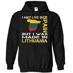 I may live in Spain but I was made in LITHUANIA #christmasgifts #merrychristmas #xmasgifts #holidaygift #spainlovers #ilovespain