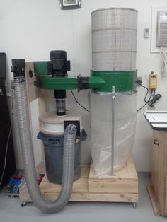 Dust Collector Reconfiguration/Upgrade - by Todd @ LumberJocks.com ~ woodworking community
